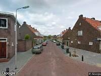 112 melding Besteld ambulance vervoer naar Ladderbeekstraat in Velsen-Noord