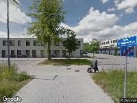 Brandweer naar Chris van Abkoudehof in Rotterdam vanwege gebouwbrand