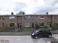 112 melding Brandweer naar Wilhelminastraat in Bergschenhoek vanwege brand
