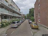 112 melding Ambulance naar Burmandwarsstraat in Amsterdam