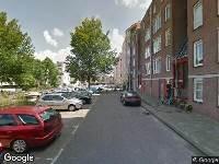 Ambulance naar Le Mairekade in Amsterdam