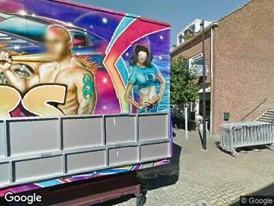 Ambulance naar Raadhuisplein in Hazerswoude-Dorp