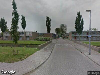 Brandweer naar Melissantstraat in Rotterdam vanwege brand
