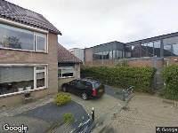 Ambulance naar Burgemeester Boudet van Damstraat in Oud-Alblas