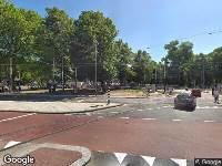 112 melding Ambulance naar Weteringschans in Amsterdam
