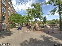 Brandweer naar Oude-IJselstraat in Amsterdam