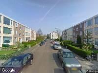 112 melding Ambulance naar Anna van Burenstraat in Dordrecht