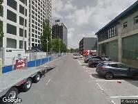 112 melding Brandweer naar Galvanistraat in Rotterdam vanwege gebouwbrand