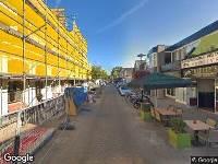 112 melding Brandweer naar Marktstraat in Aalsmeer vanwege een liftopsluiting