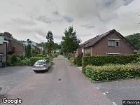 112 melding Besteld ambulance vervoer naar Perosihof in Tilburg