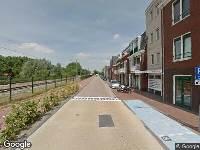 Brandweer naar Spoorpad in Waddinxveen