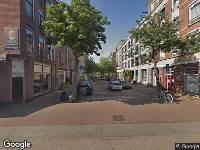 112 melding Brandweer naar Van der Hoopstraat in Amsterdam