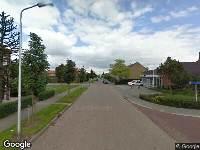 Ambulance naar Bernhardstraat in Numansdorp
