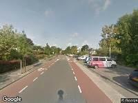 Ambulance naar Lange Voort in Oegstgeest