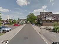 Politie naar Kosterstraat in Vaassen vanwege letsel