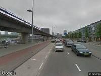 112 melding Ambulance naar Maashaven O.z. in Rotterdam