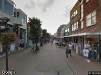Ambulance naar Hoofdstraat in Noordwijk