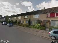 112 melding Traumahelikopter naar Kruitmolenlaan in Middelburg