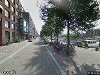 112 melding Ambulance naar Westerdok in Amsterdam