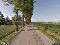 112 melding Traumahelikopter naar Dodesteeg in Wijk en Aalburg