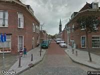 112 melding Ambulance naar Sophiastraat in Leiden