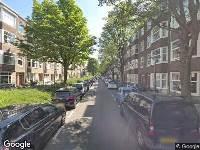 112 melding Brandweer naar Curaçaostraat in Amsterdam