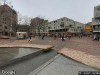 Ambulance naar Bijlmerplein in Amsterdam