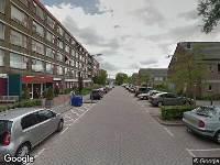 112 melding Ambulance naar Adriaan Kluitstraat in Rotterdam
