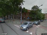 Ambulance naar Mathenesserlaan in Rotterdam