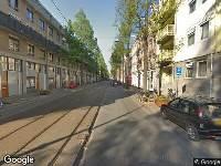 112 melding Brandweer naar Czaar Peterstraat in Amsterdam