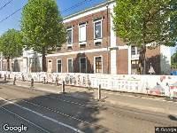 112 melding Politie naar Plantage Middenlaan in Amsterdam