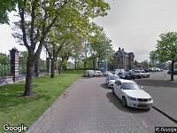 Ambulance naar Rijnwaterstraat in Rotterdam