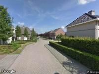 112 melding Ambulance naar Meidoornstraat in Someren