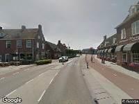 112 melding Brandweer naar Dam in Alblasserdam