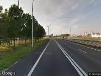 112 melding Politie naar Europaweg in Europoort Rotterdam vanwege ongeval met letsel