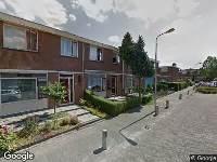 112 melding Besteld ambulance vervoer naar Ericastraat in Ridderkerk