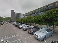 112 melding Brandweer naar Riebeekstraat in Rotterdam vanwege wateroverlast