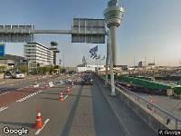 Brandweer naar Vertrekpassage in Schiphol vanwege brand