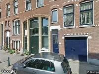 112 melding Ambulance naar Waterloostraat in Rotterdam