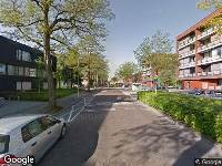 Ambulance naar Johannes Buijslaan in Eindhoven