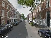 Traumahelikopter naar Riouwstraat in 's-Gravenhage