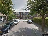 Brandweer naar Regentessestraat in Nijmegen