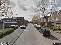 Ambulance naar Michiel de Ruyterstraat in Schijndel