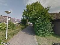 Ambulance naar Schutterstraat in IJmuiden