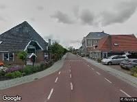 Ambulance naar Dorpsstraat in Zwaag vanwege verkeersongeval