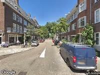 112 melding Brandweer naar Warmondstraat in Amsterdam