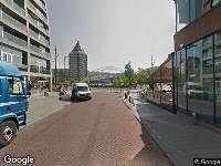 112 melding Ambulance naar Nieuwstraat in Rotterdam
