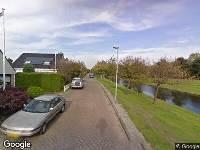 112 melding Brandweer naar Windjammer in Alphen aan den Rijn vanwege een buitenbrand
