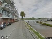 Ambulance naar Feijenoordhaven in Rotterdam