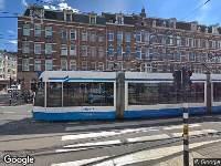 Ambulance naar Ceintuurbaan in Amsterdam